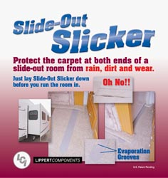 "Slide-Out Slicker, 40"" Pair"