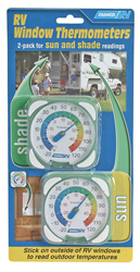 Window Thermometers, 2 Pack