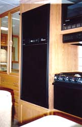 Refrigerator Door Panels Black Acrylic Fits Norcold N510