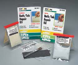 Devcon Products Bath Tub Repair Kit Almond White