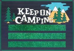 Keep On Camping Mat
