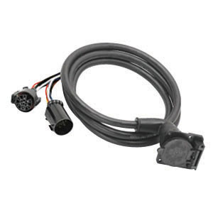 19-0684-color Y Plug Trailer Wiring Harness Adapter on