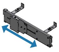 Tv mount horizontal sliding tv40 002h - Vertical sliding tv mount ...
