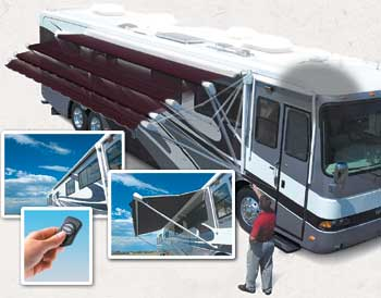 RV Slide Out Awnings, Replacement Fabric
