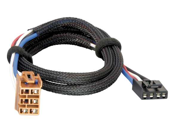 Tekonsha Quick Connect Wiring Harness