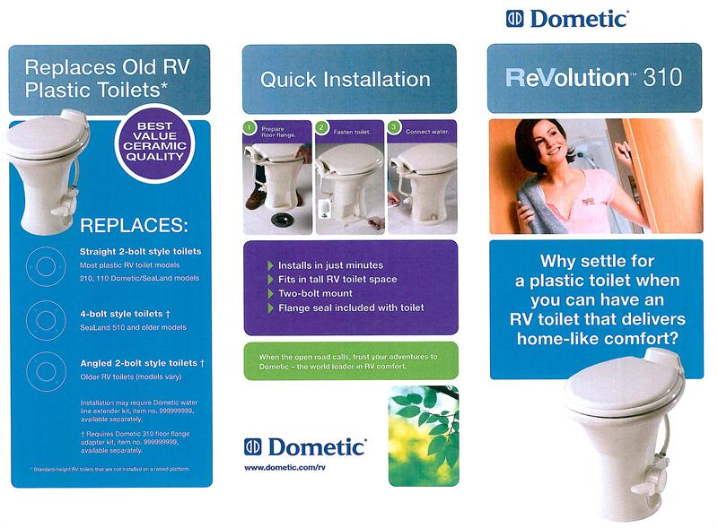 Dometic 310 Rv China Toilet Free Shipping On Sale Now