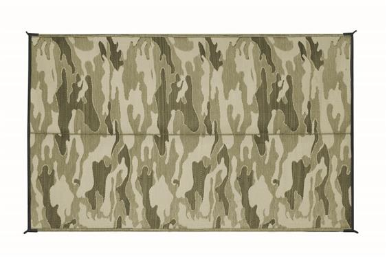 Camco 42825 Outdoor 9 X 12 Camouflage Mat