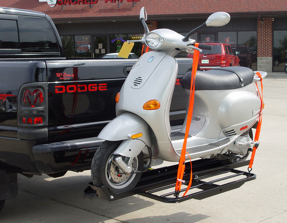 Versahaul Single 50cc Scooter Carrier With Ramp