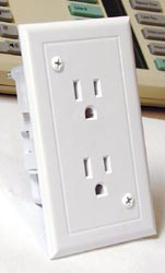 Odyssey Group White Receptacle