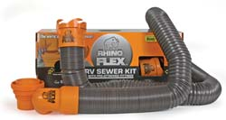Rhino Flex 15 Rv Sewer Hose Kit