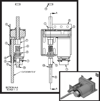 951237 ap products replacement lippert slideout parts Single Phase Motor Wiring Diagrams at edmiracle.co