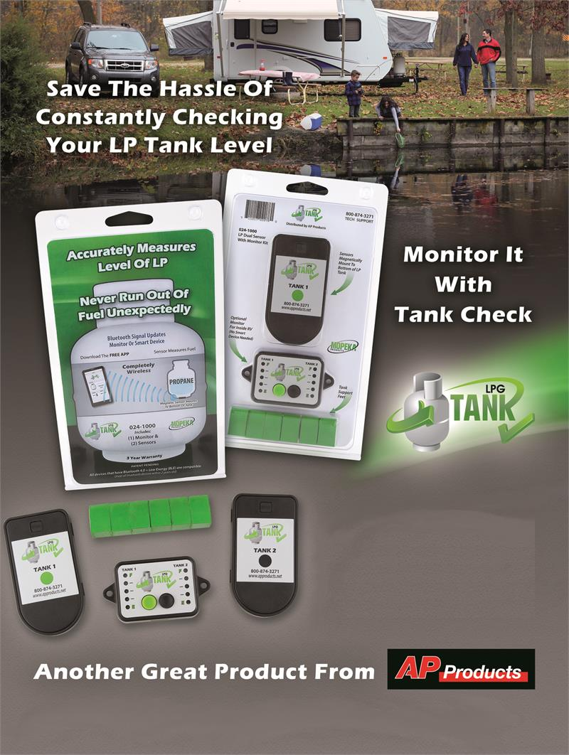 tank check propane level sensing system bluetooth technology