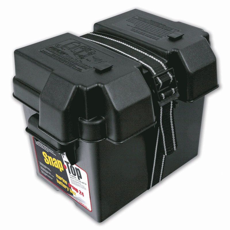 how to clean the black case on a car battery