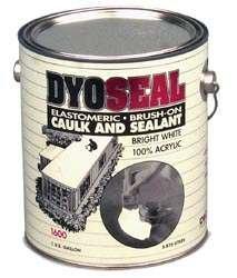 Dyco Paints Dyc1600 4 Dyoseal Roof Sealant Acrylic 1 Quart