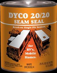 Dyco Dyc2020ss 4 Synthetic Rubber Brush Grade Seam Sealant