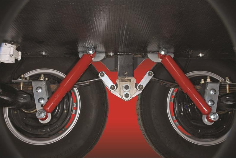 Joy Rider Trailer Shock Suspension System For 2 3 8 Inch Axles