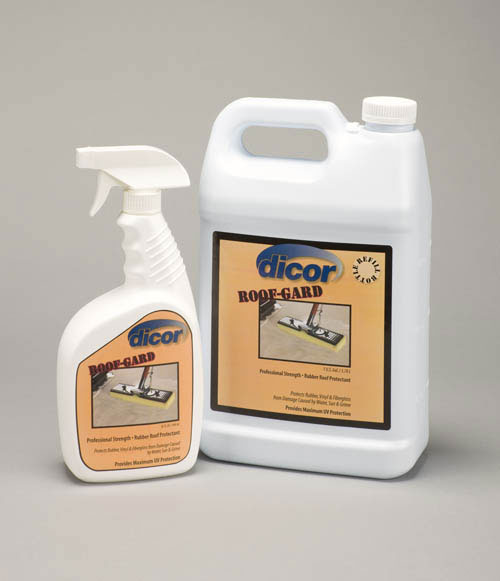 Dicor Roof Gard Rubber Roof Uv Protectant