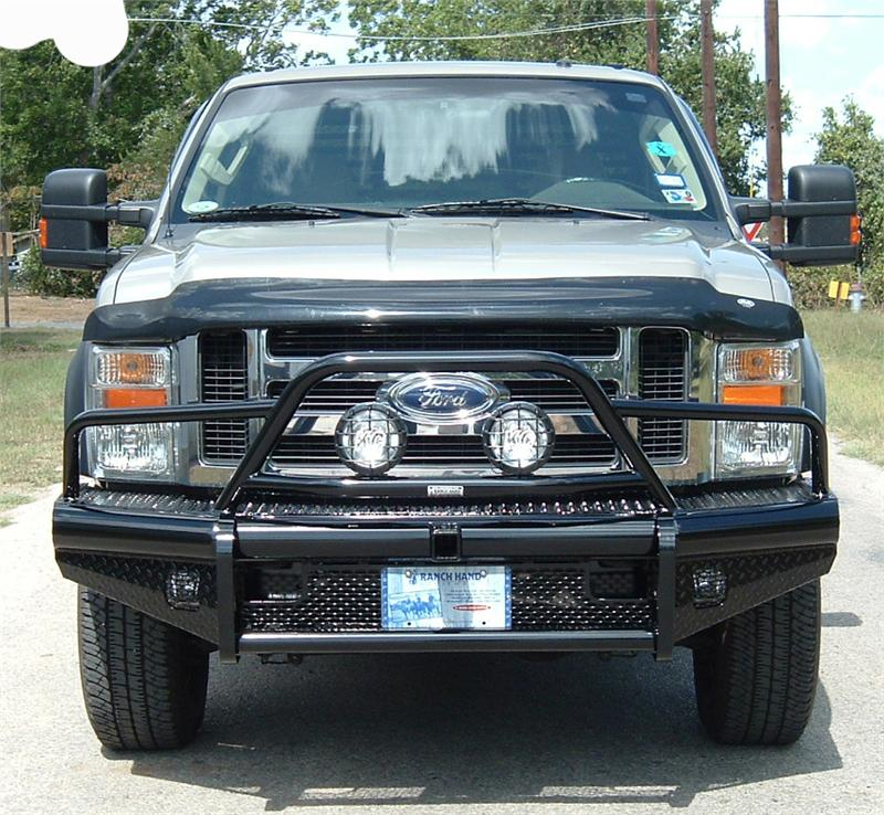 Ranch Hand Fbd065blr Sport Front Bumper 15k Winch Ready: Ranch Hand Bullnose Ford
