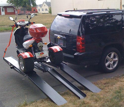 Versahaul Trike Carrier With Ramp