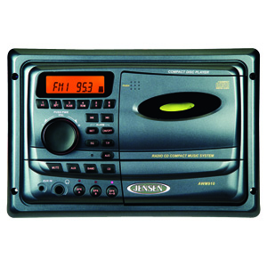 Jensen Am Fm Wall Mounted Stereo W Cd