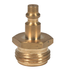 Camco RV 36143 Blow-Out Plug, Brass