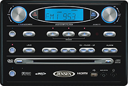 Jensen Awm975 Rv Dvd Wall Radio Hdmi Dvd Cd Am Fm Mp3