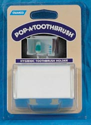 Pop-A-Toothbrush
