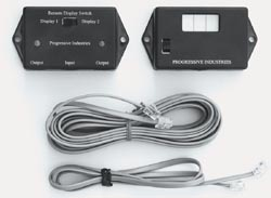Hardwire electrical management system remote display