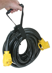 50A Power Cord with Handle, 30'