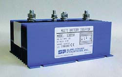 2 Battery Isolator 120 Amp