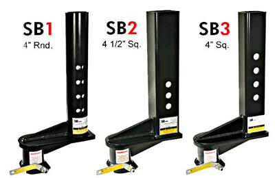 Sb3 - Extended 9 Inch Offset Gooseneck Coupler For 4