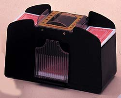 Four Deck Card Shuffler