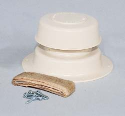 Plumbing Vent Kit, Polar White