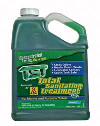 TST Total Sanitation Treatment, 1 gal.