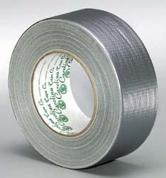 Laminated waterproof duct tape. Weather resistant for duct work. 2