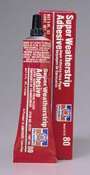 Super Weatherstrip Adhesive, 5 fl. oz. Tube