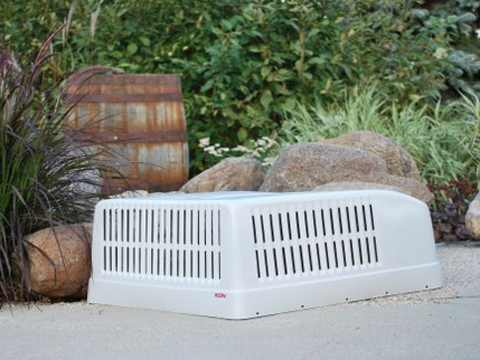 Old Style ICON Brisk Air Dometic Duo Therm RV Air Conditioner Shroud