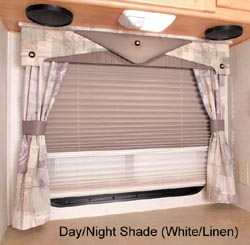 United Shade Pleated Day Night Shades Shades