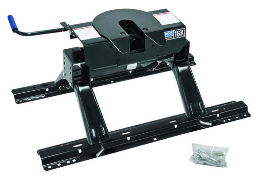 Reese 31859 16k Pro Series Fifth Wheel Hitch W   Rails