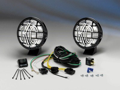 kc hilites 452 apollo 6 pro pair pack system black. Black Bedroom Furniture Sets. Home Design Ideas