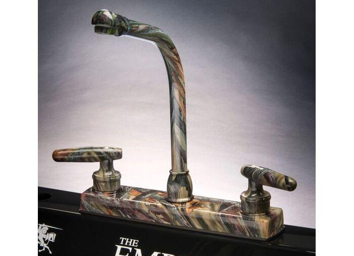 Empire Brass Camo-Grn-800 Green Camo Hi Rise Spout Rv Kitchen Faucet
