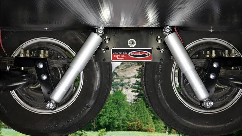 comfort ride trailer shock suspension system for 2 3 8 inch axles