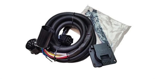 demco 8555002 fifth wheel and gooseneck in bed wiring harness kit-10'