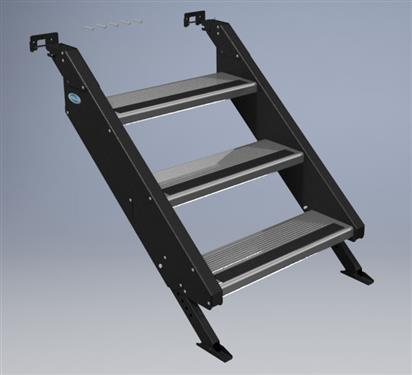Mor Ryde Stp54 010h Quick Connect Removable Entry Step 3
