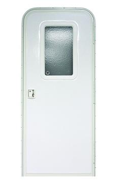sc 1 st  Tweety\u0027s RV & Lippert V000381472 RH Polar White Radius Corner Entry Door - 28\