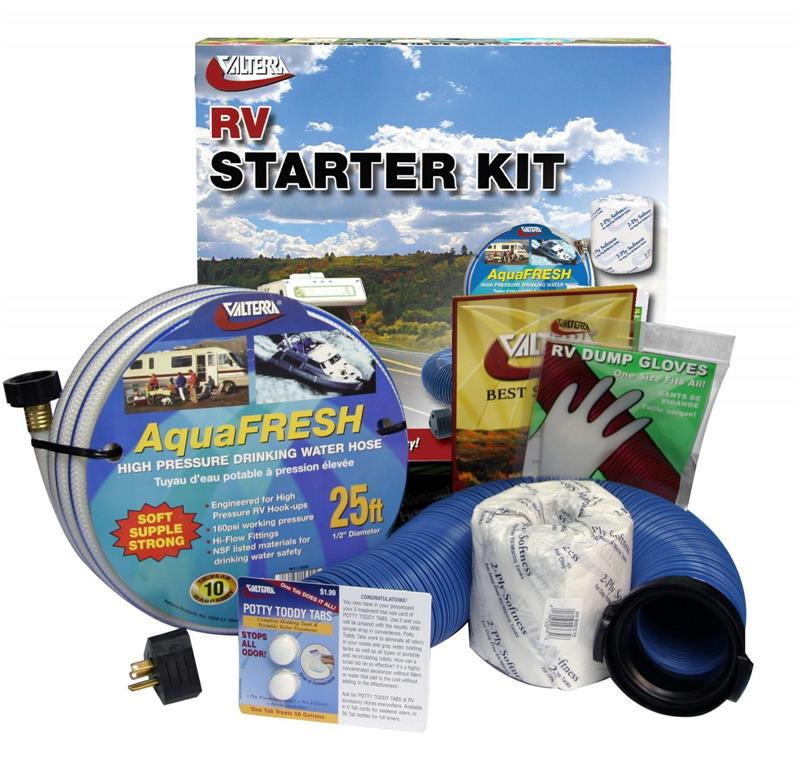 RV Starter Kits - The Most Needed Items for New RV'ers