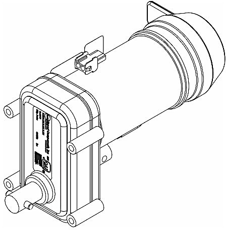 lippert 386322 replacement motor for kwikee slide out center drive 12 vdc Slide Out Wheels