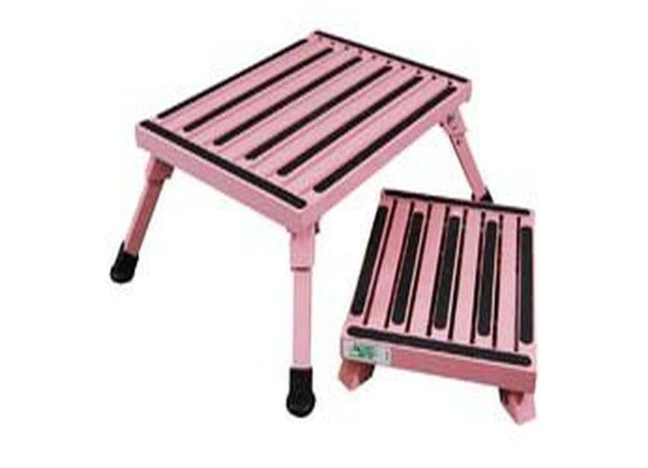 Safety Step Aluminum Foldable Stool One Step With Non Slip