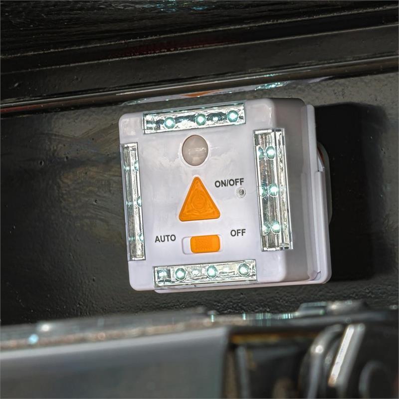 New Tri Linx Lites tri-lynx Lites 00026w 12 LED Light plus Motion and Dawn//Dusk