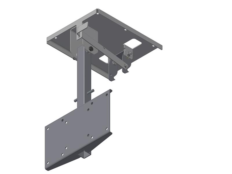 Morryde Tv1 080h Friction Pivot Drop Down Tv Wall Mount
